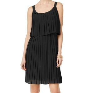 NY Collection Sheer Sleeveless Party Black Dress